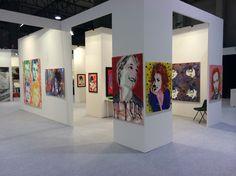 Art fair exhibition