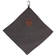 Team Effort NCAA Microfiber Golf Towel - University of Virginia