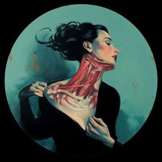 This is the incredible artwork by Fernando Vicente. A whole new look on the human body and beauty in its own form.