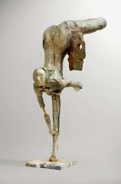 Featured #Artist: John Denning - Dancer II - only at Sculpturesite Gallery. Pedestal #sculpture #bronze #art #design