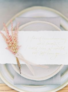 pretty place setting