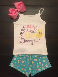Hey, I found this really awesome Etsy listing at https://www.etsy.com/listing/516954471/little-miss-hunny-bunny-set