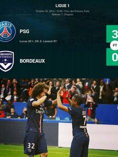 PSG 3-0 Bordeaux