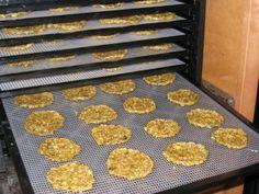 Dehydrator corn chips
