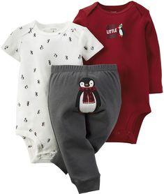 Carter's Penguin Bodysuits and Pants - Baby Boys newborn-24m