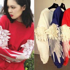 Sudadera alas/wings sweatshirt wh189