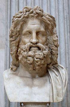 Zeus de Otricoli.-  Museo Pio Clementino. VAT.-