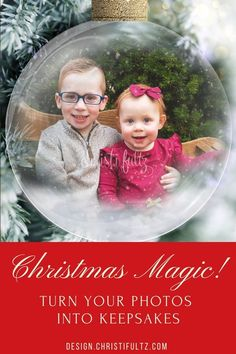 Bring a little Christmas magic to your favorite photos and turn them into cherished keepsakes. Christmas photo editing and pictures with Santa.