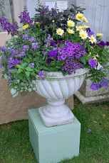 Container Gardening Ideas Classic Garden Urn - Newport Flower Show Creative Outdoor Containers Design Competition - Newport Cliff Walk photo tour and tips for visitors. Pictures of a sunset walk along Newport's famous Cliff Walk. Container Flowers, Flower Planters, Container Plants, Container Gardening, Flower Pots, Flower Ideas, Planters Shade, 40 Container, Container Design