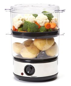 Look at this Electric Stainless Steel Food Steamer on #zulily today!