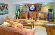 basement children s play room