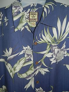 Tommy Bahama shirt size M, Just dry cleaned,Free USA shiping !!