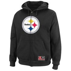 Steelers sweaters with logo on hood | Reebok Pittsburgh Steelers ...