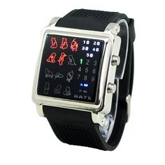 Cat lovers LED watch at AwesomeObjects.com