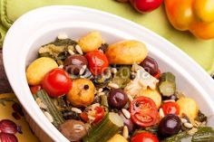 Stock photo at Fotolia: Vegan Recipe - Stewed Vegetables