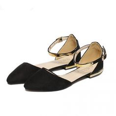 Wholesale Sweet Shallow Suede Pointed Toe Flats ($10.50) http://www.clubwholesale.net/shoes/flats