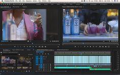 Editando sin parar!!!!!! @adobe @bombaysapphireuk @officina31 #premiere #canon #adobe