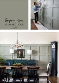 Favorite Interior Paint Colors - Sincerely, Sara D. | Home Decor & DIY Projects Dinning Room Paint Colors, Dining Room Colour Schemes, Wall Paint Colors, Interior Paint Colors, Paint Colors For Home, Dining Room Design, Interior Design, Dining Room Buffet, Dining Room Walls