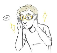 Jason's glasses