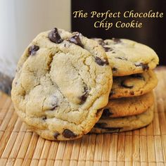 The Perfect Chocolate Chip Cookie - I've never tried a better recipe in over 30 years of baking. This batch was made by my 12 year old son, Noah.