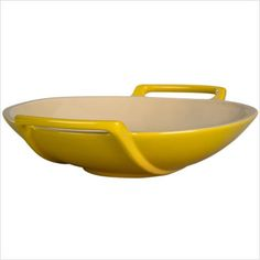 Le Creuset Wok in Yellow            I WANT YOU!   Someone tell my husband!