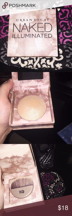 Urban decay naked illuminated shimmering powder Brand new. Never used. Shimmering powder for face or body. It makes you glow! Sephora Makeup