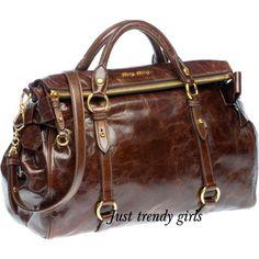 miu miu handbag brown, Miu Miu Bags collection http://www.justtrendygirls.com/miu-miu-bags-collection/