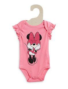 Body manches volantées 'Minnie' Bébé fille 6,00€ Body manches courtes Craquez pour ce body 'Disney' ! - Body manches courtes volantées - Col US - Ouverture pressionn