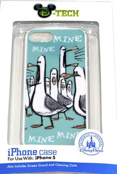 Disney iPhone 5 Case Finding Nemo Mine Seagulls Pixar Cover $25, Click here for more cute Gifts: www.lazybreezedeals.com