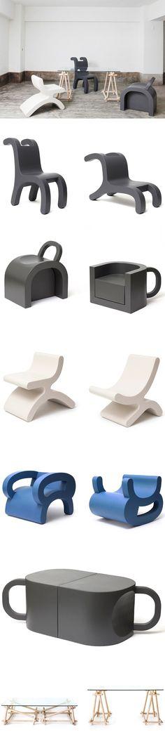 Série de meubles Flip par Daisuke Motogi Architecture