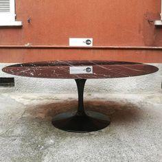 Base ovale per tavolo Tulip Saarinen   TAVOLO TULIP EERO SAARINEN ...