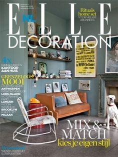Cover ELLE Decoration NL nummer 4 2013