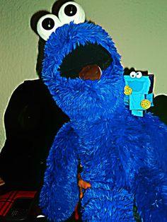 Monster cookie el pedacito de mi corazón que aun permanece a tu lado
