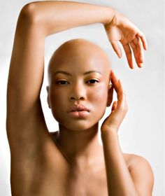 Posts about beautiful bald women written by LunaBella Makeup & Hair Bald Head Women, Shaved Head Women, Style Audacieux, Bald Look, Natural Hair Styles, Short Hair Styles, Going Bald, Bald Girl, Locks
