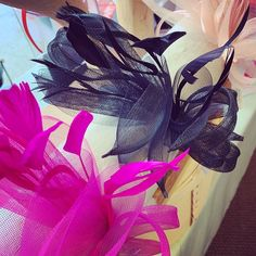 We are fascinator ready for your Bridal Shower, Afternoon Tea, & Derby Party!💕 . . . . #derbyparty #teaparty #facinator #facinators…