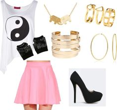 Inspired #Outfit from #SISTAR's Shake It Music Video #fashion