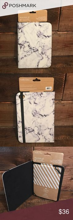 """Marble 8"""" Case NWT / Marble Design / Fits iPad Mini / Kindle Fire HD / & More! Accessories Tablet Cases"""