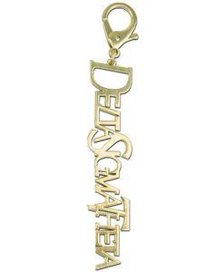 Delta Sigma Theta Handbag Charm Keychain