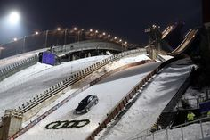 Audi's extensive commitments in winter sports provide a perfect platform for the brand to present its sporting performance and dynamism to an international audience, focused on permanent quattro four-wheel drive that impressively displays its superiority particularly on snow and ice.