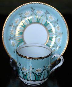maker unknown art nouveau cup and sauer  c.1920