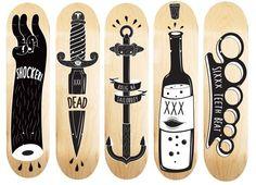 #Skate #Planche #Draw #Typo