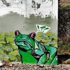 """124 curtidas, 2 comentários - Urban Art Porto (@urban_art_porto) no Instagram: """"Urban Art Porto in Porto #rsa_graffiti #porto🇵🇹 #portugal #ig_graffiti #instatravel #artecallejero…"""""""