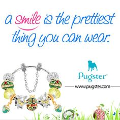 A Smile Is The Prettiest Thing You Can Wear http://www.pugster.com/easter.html #Pugster #Smile #Prettiest #Jewelry #Beads #Bracelets #ETSY #Silver #Pandora #Charms #Bracelet #Beaded #charm #pandorajewelry #pandoracharms #NewDesignBeads #Necklace #Pendant #Easter #Flower #Diamond