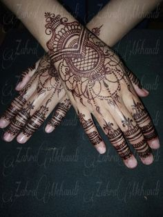 Henna wedding Warna Instan henna by zahramehandi