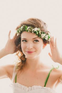 This full boho wreath is the perfect accessory to make you feel like an earthy, woodland queen!