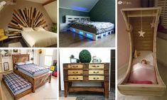 No necesita gastar más en mobiliario, ahora usted puede obtener su formas de mobiliario de lujo a través de DIY recanalizar los palets proyectos! Muebles d