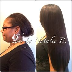 Beautiful, Natural-Looking Results!!! FLAWLESS SEW-IN HAIR WEAVES by Natalie B. @Natalie Birdsong ---Call or text me at 708-675-9351 to schedule your appointment! Order your hair online at www.naturalgirlhair.com