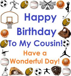 HBD Cousin - Male