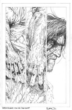 Death of wolverine pencils by steve mcniven comic page, comic book pages, Comic Book Artists, Comic Artist, Comic Books Art, Marvel Comics Art, Bd Comics, Wolverine Art, Comic Layout, Comic Art Community, Comic Drawing