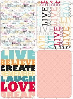 FREEBIES: TONSSS of Print & Cut Silhouette Files from the Clementine Collection!!!!! :) by Cute Things I Made